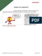 Aprenda Expresses Em Espanhol