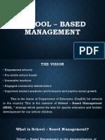 School - Based Management