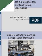Viga_longa flexão simples - matriz de rigidez