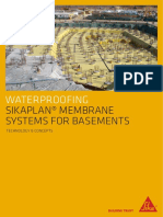 Sikaplan Membrane Systems for Basements Eng