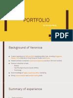 Veronica Wang Portfolio
