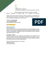 Paginas de Diseño Web e Intranet