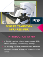 FTIR (Fourier Transform Infrared)