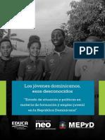 Los jóvenes dominicanos esos desconocidos | Sin-Sin afecta en mayor medida a las mujeres