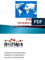 IMPACT ON INTERNATIONAL BUSINESS.pptx