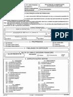 Boletim de classificação PMJP