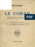 Le Coran Montet