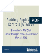 AUDITING APPLICATION CONTOL