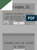 Escribir Copia Cl