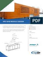 01SD044 a HPU Skid Module Design