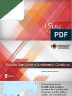 estado sanitario y ambiental Cordoba-Colombia