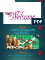 Ppt on A study on Inflation Accounting