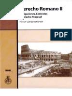 Derecho Romano II - Hector Gonzalez Roman