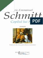 Eric Emmanuel Schmitt Copilul Lui Noe