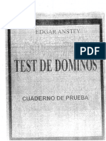 Cuaderno de Prueba Test Dominos