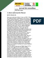 Folha de S.Paulo - Bento Prado Jr.