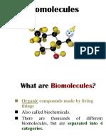 Bio Molecules