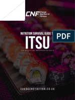 Itsu Eating Out Guide