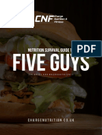 Five Guys Survival Guide