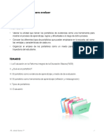 Antologia - curso para evaluar portafolios