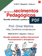 4. Questao Ambiental e Politica Internacional