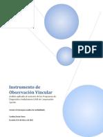 Análisis del Instrumento de Observación Vincular (4)
