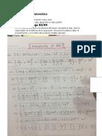 Asignación de Matemática 1er Año