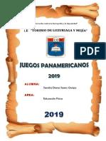 INVESTIGACION JUEGOS PANAMERICANOS DE 2019.docx