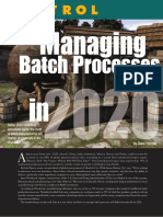 Managing Batch Processes in 2020