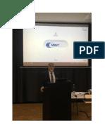 مشاركة الدكتور يوسف سرحان في المؤتمر السنوي الثاني للرنين المغناطيسي العلاجي Mbst