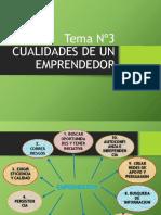Tema 3 Cualidades de Un Emprendedor