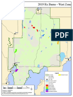 2019 West Zone Prescribed  Fire Map
