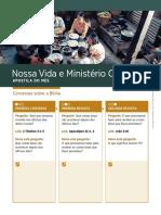 Apostila Vida e Ministério / junho 2019