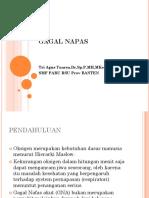 5. Dr. Tri Agus y, Spp - Gagal Napas