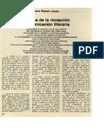 la estética de la recepción de jauss traducción Beatriz sarlo alumnos.pdf