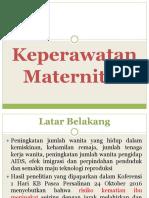 1. Keperawatan Maternitas
