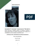 Artículo Diagnosis Prosam - Entrevista a Dra. Denise Najmanovich