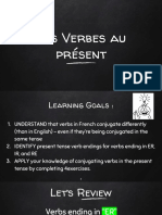 7 core french - re ir verbs au present
