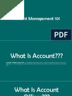 Account 101