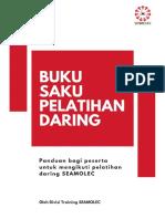 Buku Saku Pelatihan Daring 2019
