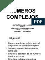 NUMEROS COMPLEJOS Version Blanco y Negro