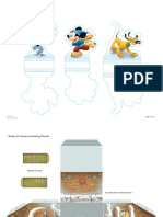 Mickey and Friends Ice Skating Playset Printable 1111