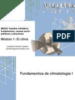 MOOC 1.1.1. Fundamentos de Climatología I