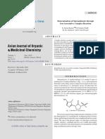 Determination of Satranidazol through Ion-Associative Complex Reaction