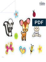 bamki cute stickets
