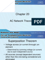 AC Network Theorems - Robbins