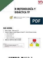 Taller Metodología y Didáctica TP