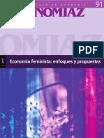 Ekonomiaz Emfoques de Economi Feminis
