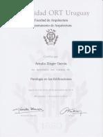Documentación profesional Arq. Amalia Zinger