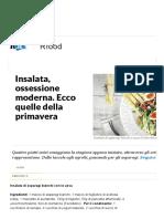 Insalata, Ossessione Moderna. Ecco Quelle Della Primavera - Repubblica.it